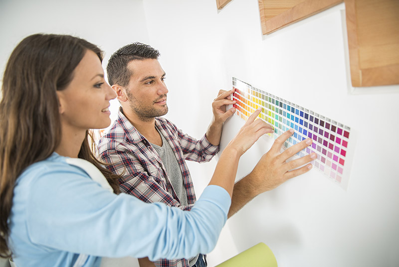 Choosing The Right Colour For Your Home