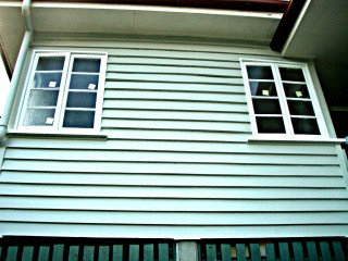 After - External repaint of flakey weatherboards in Moorooka, QLD