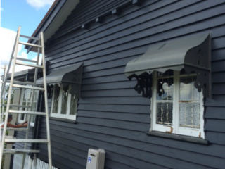In progress - External paint job in Ashgrove